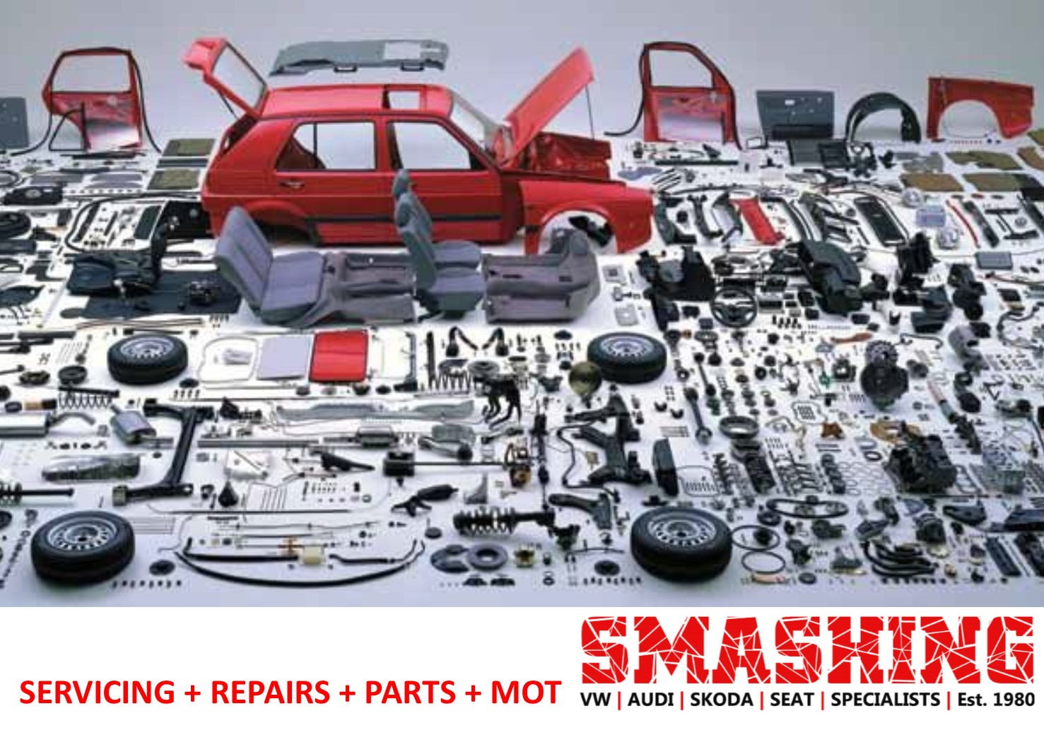 Parts Smashing Vw